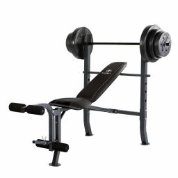 full set weight and bench and abs sit