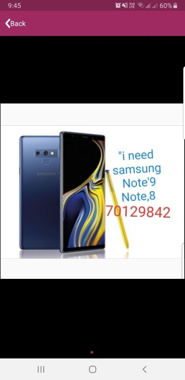 LOOKING FOR NOTE 9  /8