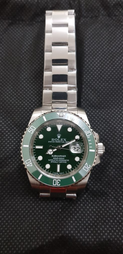 ROLEX GREEN SUBMARINE MASTER COPY