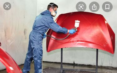 Painter and mechanic for garage