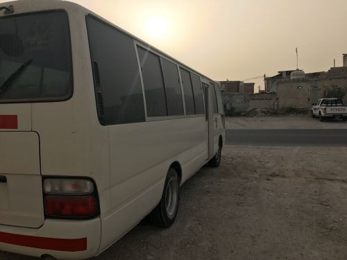 Toyota coaster for Rent