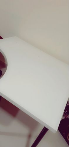 Corner table (white) ikea