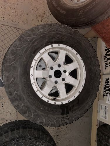 17 inch rims for nissan and gmc