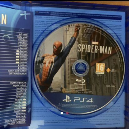 Spiderman game perfect condition