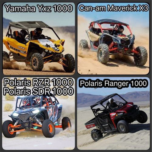Polaris RZR 1000 RockFord مسجل