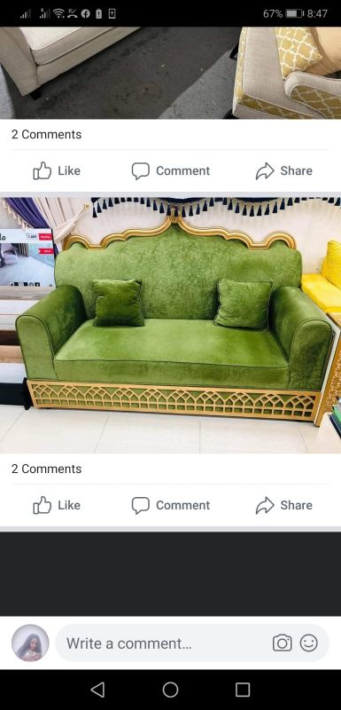 urgent sell new 2seater sofa 70320274