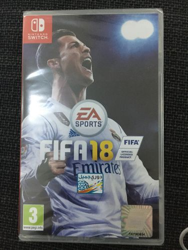 Nintendo switch fifa 18