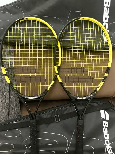 2 Tennis racket'in excelent condi