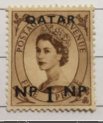 Old and rare post stamps Qatar