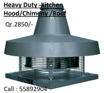 Heavy duty Kitchen/Roof/Chimney Fan