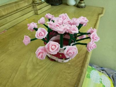 flower made by hand 40QR