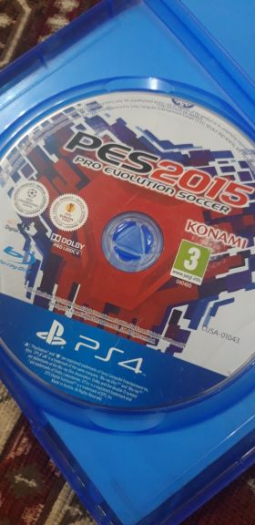 pes 2015 for ps4 in a good condition