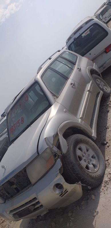 Pajero scrap all parts available