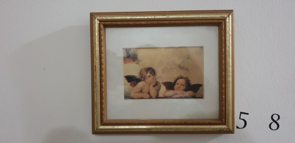 cute little portrait of angels very rare