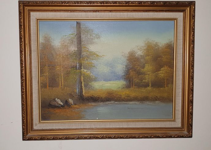 very old and rare italian oil painting