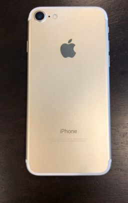 iPhone 7 gold like new 32gb