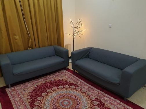 2 sofas Dark gray