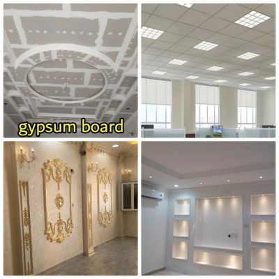 gypsum partition & ceiling fixing work