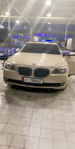 BMW 730li GOLD COLOR