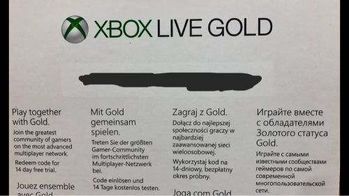 Xbox love gold and xbox game pass