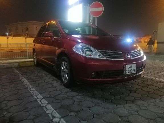 Nissan Tiida in good condition