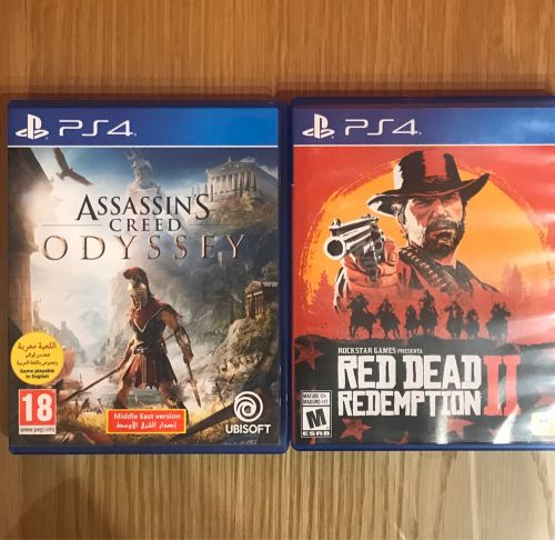 RDR and assassin creed
