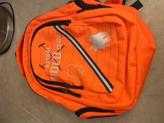 Polo orange backpack