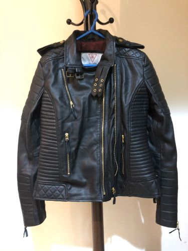 Genuine leather 2XL jacket