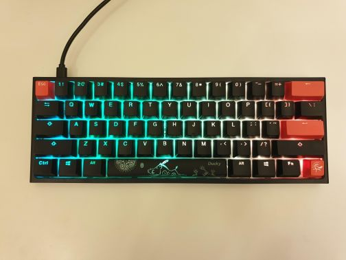 Gaming keyboard Ducky one two mini
