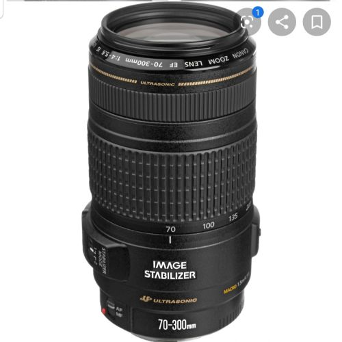 Canon lens 70 - 300mm