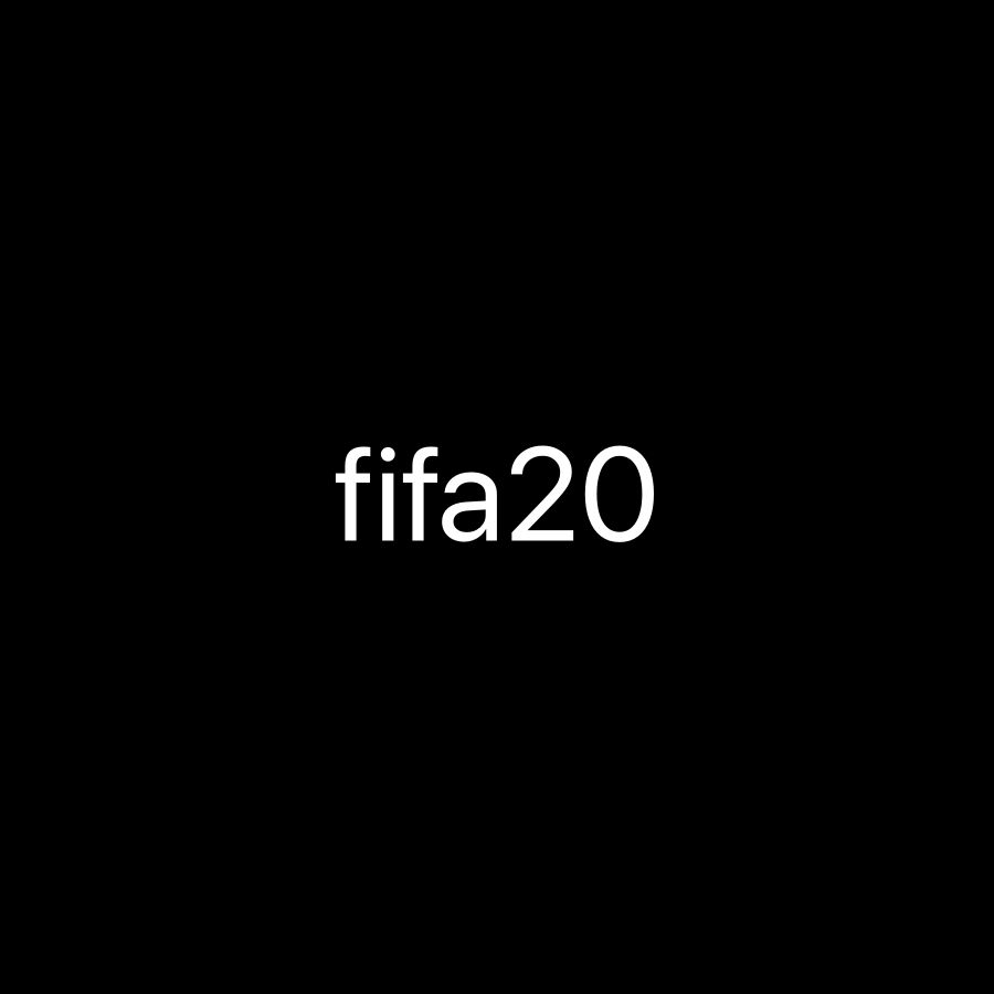Looking for fifa 20