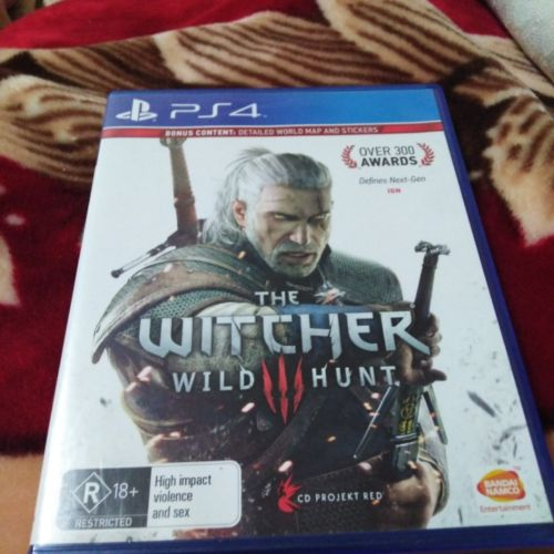 the witcher 3 for ps4