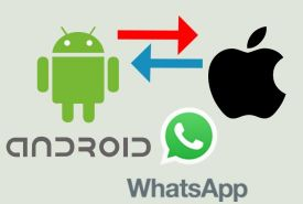 WhatsApp Transfer iPhone Android
