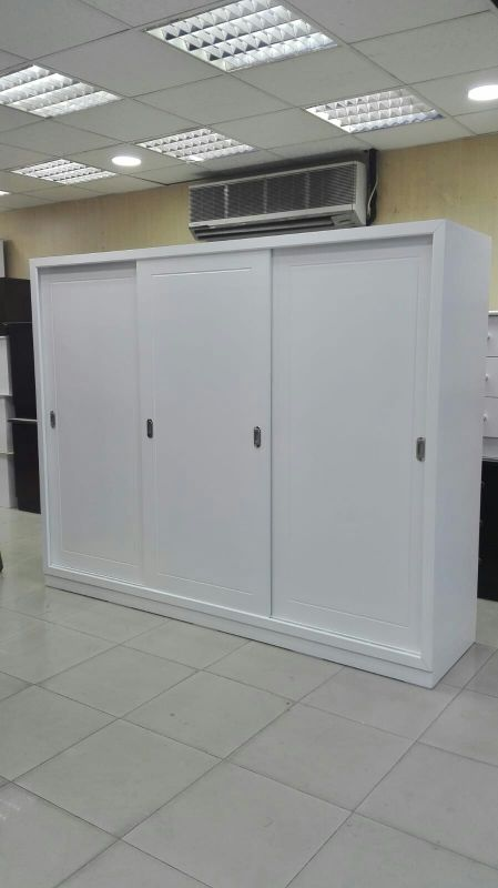Three Doors Sliding Cupboard