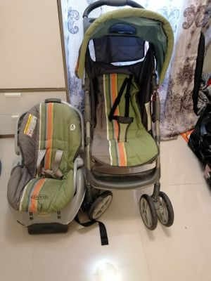 kids stroller and car seat