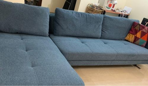 Sofa L shape from home center