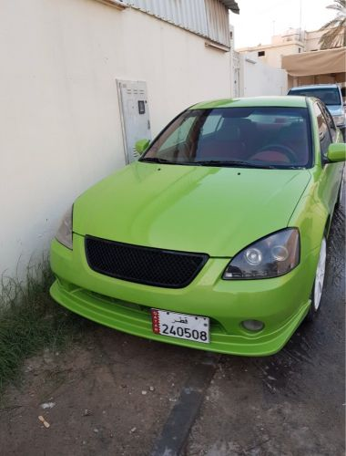 Nissan altima fully modified