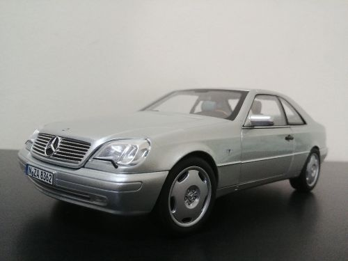 1:18 MB CL600 model car