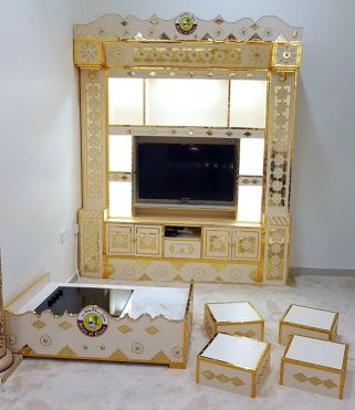 Arabic cupboard with table