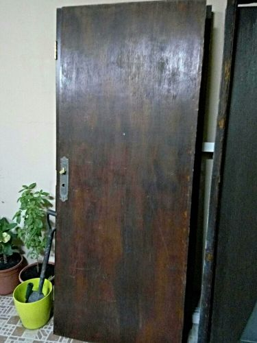 wooden doors used