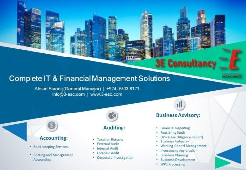financial consultant services