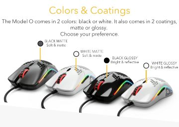 *NEW*Model O- Gaming mouse 58gra