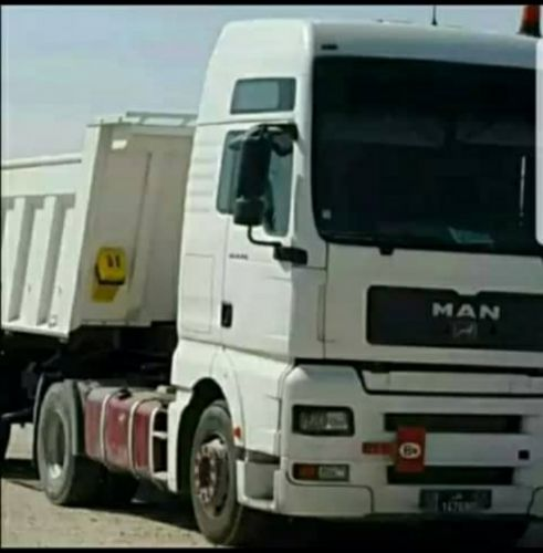 for sale mantruck with trailer