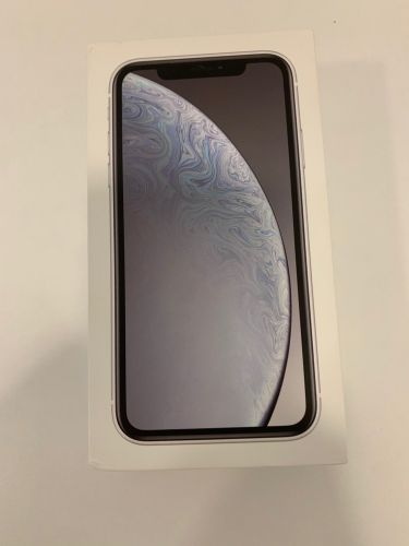 New iPhone XR 64 gb white