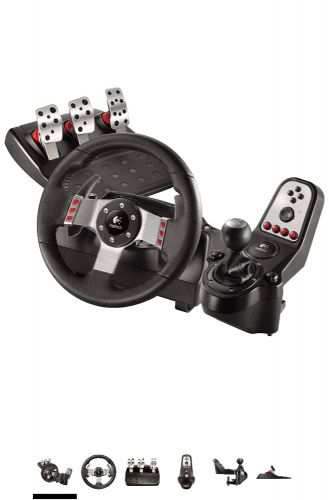 Logitec G27 steering wheel (New)