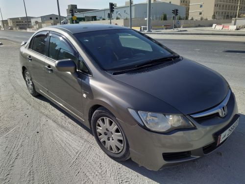Honda Civic 2008 Grey Colour
