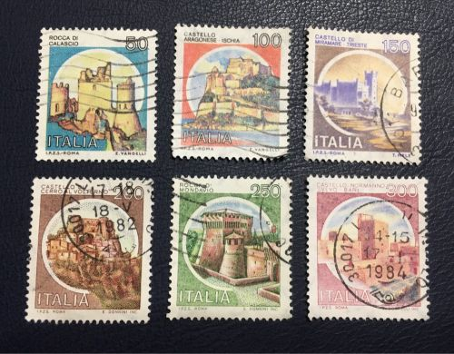 Rare post stamps of Italy