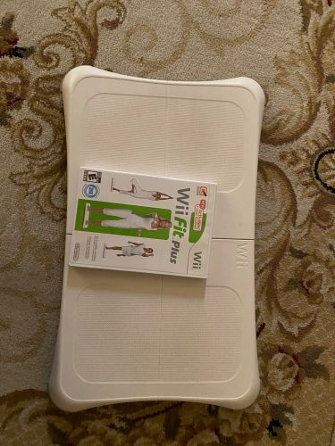 Wii fit plus and the bored