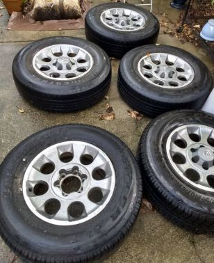 FJ RIMS AND TYRES