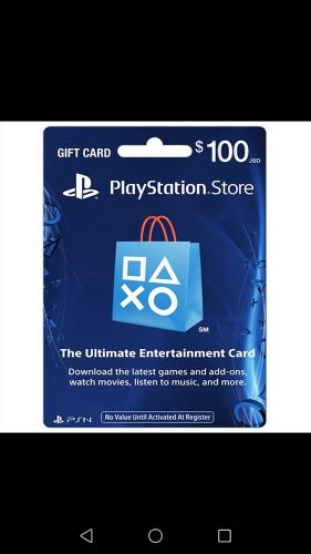 playstation4 account 100$ wallet